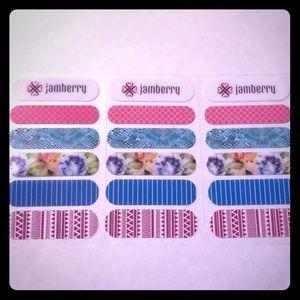 Jamberry set of 3 samples
